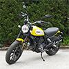 Ducati Scrambler Gelb