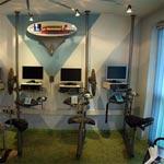 Computerraum der Fahrschule Janeschitz mit sechs Prüfungsplätze