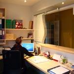 Neu gestaltete Büro der Fahrschule Janeschitz